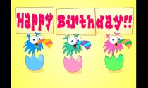 Birthday Birds eCard