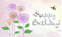 Blooming Birthday eCard