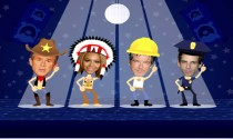 Birthday Village People eCard