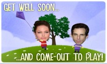 Get Well Soon and Play eCard