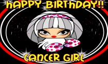 Cancer Girl eCard