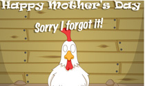 Sorry I Forgot Chicken eCard