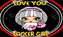 Cancer Girl Facts eCard