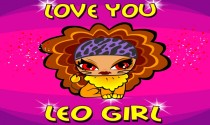 Love You Leo Girl eCard