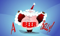 Santas Beer Belly eCard
