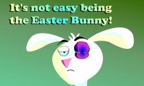 Thieving Easter Bunny eCard