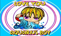 Aquarius Boy eCard