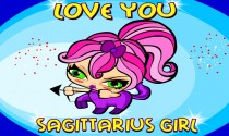 Sagittarius Girl Facts eCard