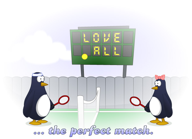 Anniversary Perfect Match Penguins