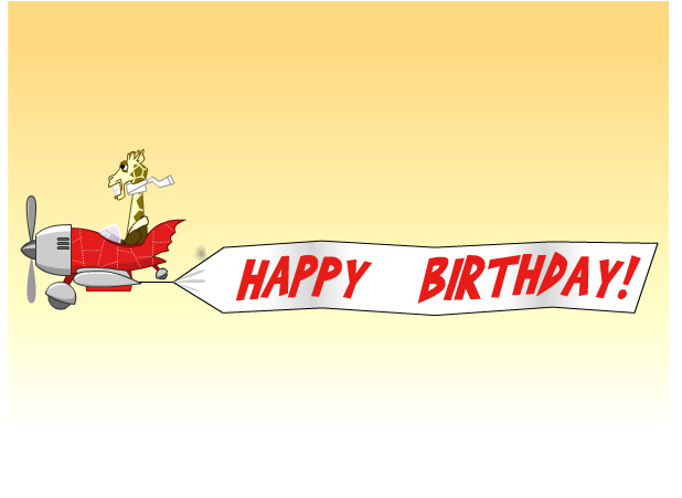 eCards Birthday giraffe – E Birthday Cards Uk Free
