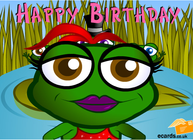For Kids Birthday Frog Song