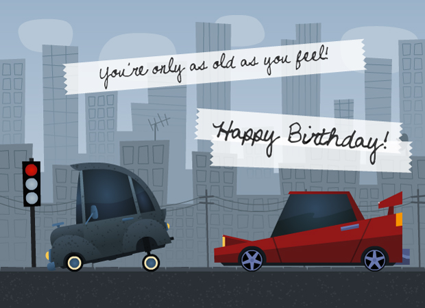 eCards Car Birthday – Birthday Cards with Cars