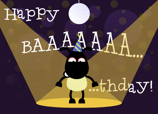 For Kids Happy Baaaaathday This Birthday ECard