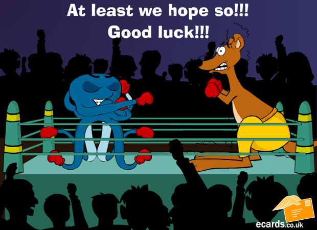 Good Luck Grim Boxing
