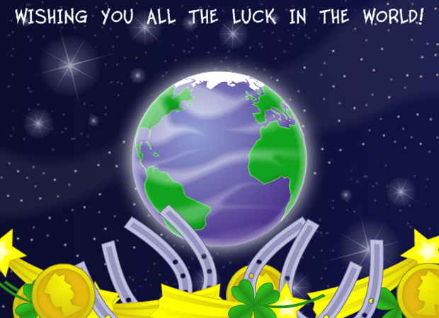 Good Luck Wishing you the all the luck in the world