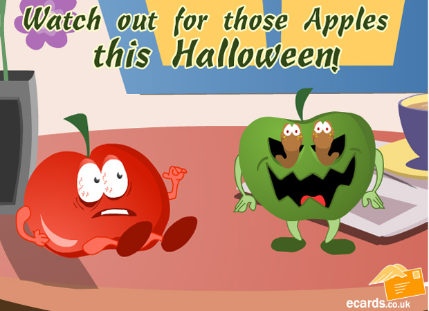 Haloween Watch out for those Apples