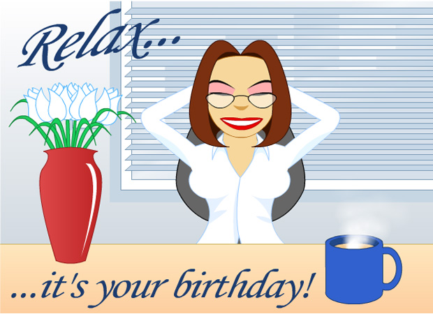 eCards - Birthday Relax