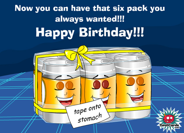 His Birthday 6 Pack