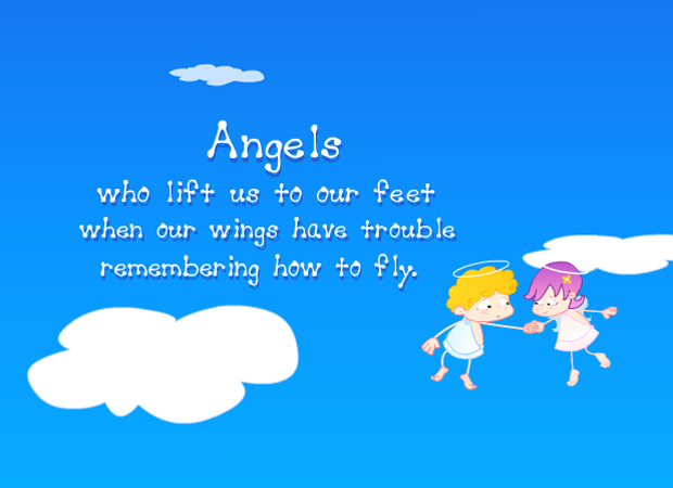 Hug & Friends Friends are Angels