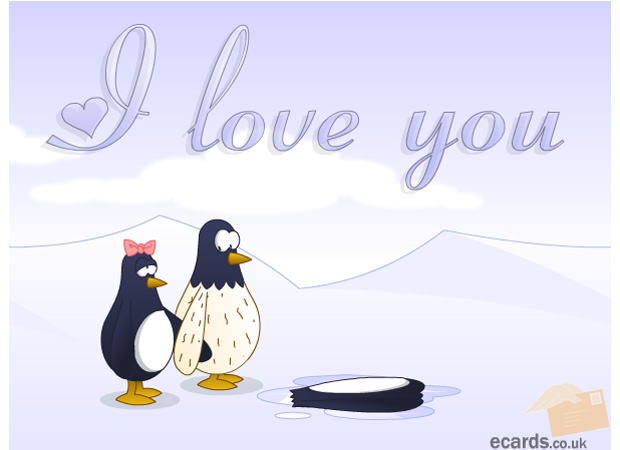 I Love You I Love You Penguin