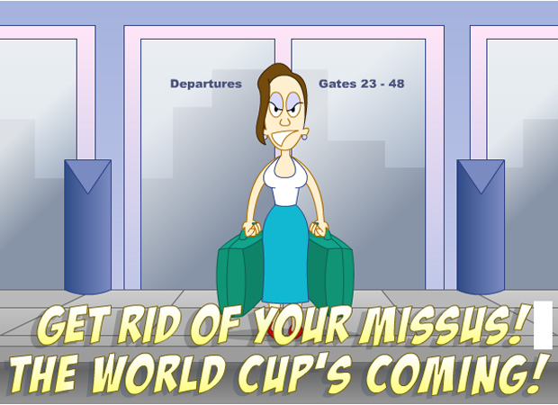 Invitations World Cup Fever