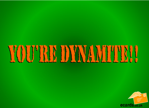 Starting Out Your Dynamite