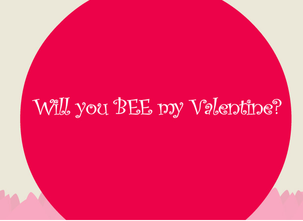 eCards Bee My Valentine – Bee My Valentine Card
