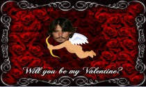 Valentines Day Cupid the Admirer