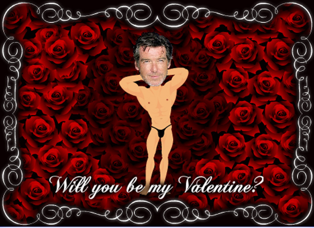Valentines Day Muscle Man