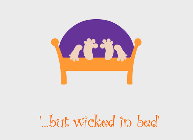 Valentines Day Wicked in Bed!