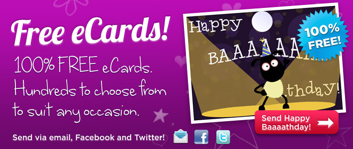 eCards – Personalised Birthday Cards Online Free