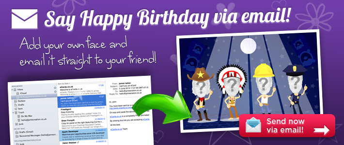 eCards – Emailing Birthday Cards