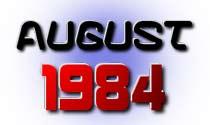 August 1984 eCard