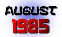 August 1985 eCard