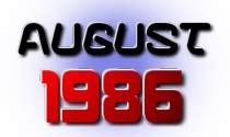 August 1986 eCard