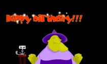 Flatulent Birthday Witch eCard
