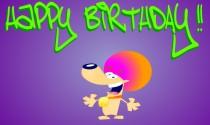 Funky Birthday eCard