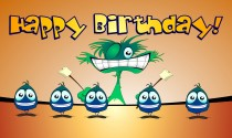 Monster Birthday eCard