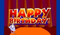 Showman Birthday eCard