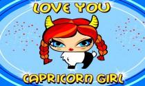 Capricorn Girl eCard