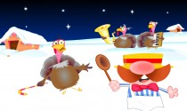 Christmas Turkey Band eCard