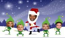 Dancing Santa eCard