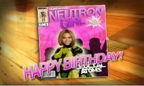 Neutron Girl eCard