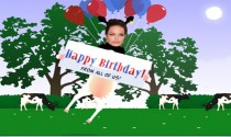 FaceIt ECard The Cows Say Happy Birthday