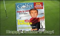 Golfer Dad eCard