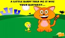 Birthday Birdie eCard