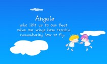 Friends are Angels eCard