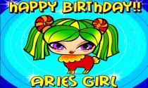 Aries Girl eCard