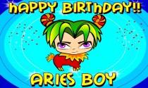 Aries Boy Facts eCard