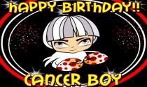 Cancer Boy Facts eCard